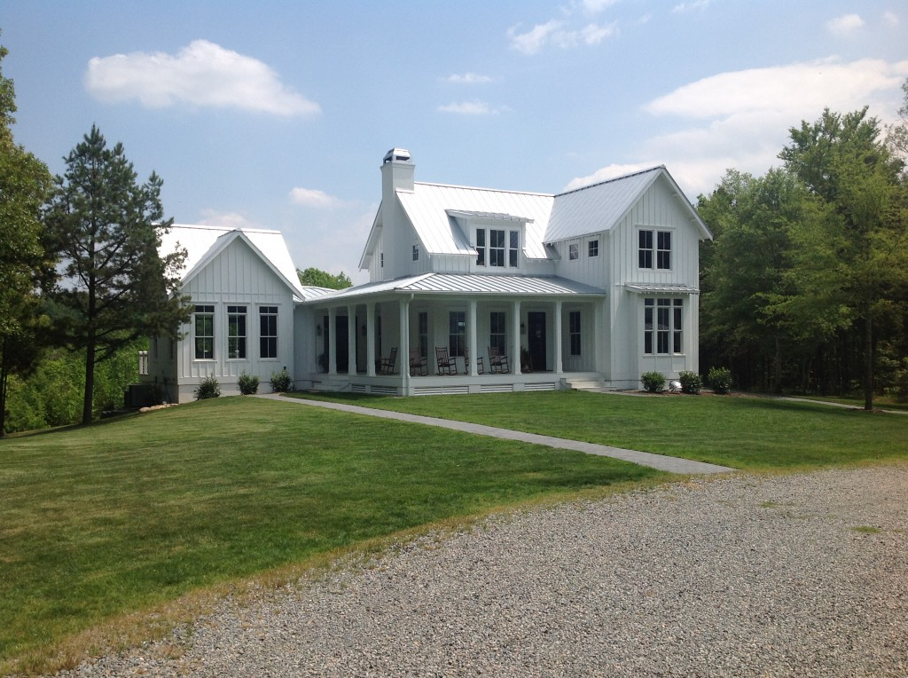 Rankin road come home for Custom farmhouse plans