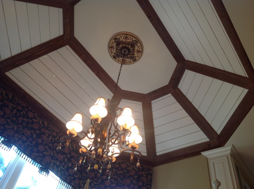 7 - Breakfast Nook Ceiling