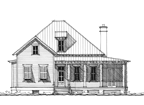 Allison Ramsey Hartsville Front Elevation